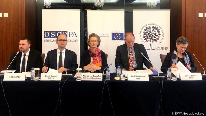 ОБСЕ: Выборы в Беларуси не соответствовали международным стандартам