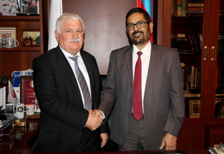 بداية التعاون بين مؤسسة أورأسيا الدولية للصحافة والسفارة الهندية
