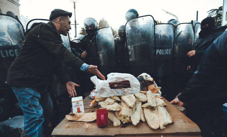 Бурджанадзе: В протестах в Грузии нет «руки Москвы»