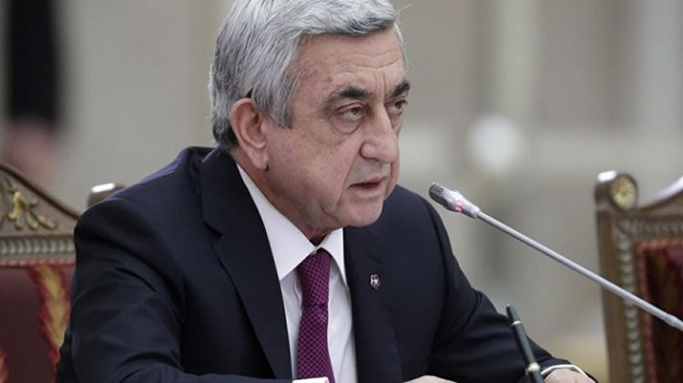 """""""Qarabağ heç vaxt Azərbaycanın tərkibində olmayacaq!.."""" - Sərkisyandan həyasız çıxış..."""