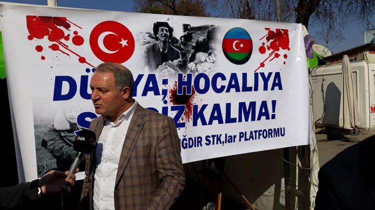 Ermeni lobisi her fırsatta Türk milletini sözde soykırım ile suçlamaktadır - ASİMDER Başkanı Gülbey