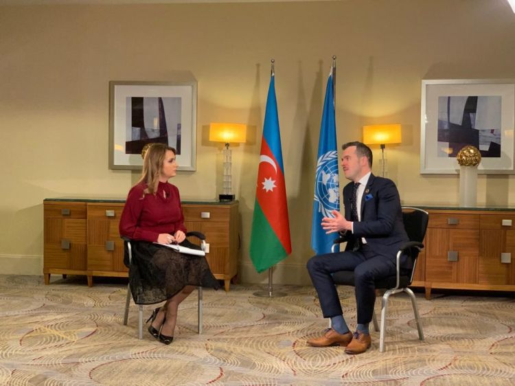 "Azerbaijan - UN Global Compact: prospects for cooperation - ""Global discussion"" on CBC TV - VIDEO"