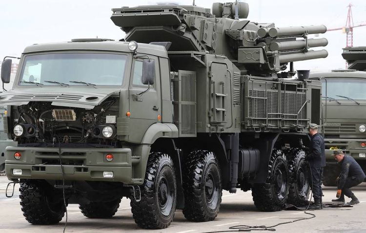 Russian troops to get 27 Pantsyr anti-aircraft missile/gun systems in 2019