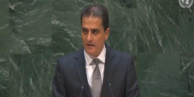 الجمعية العامة للأمم المتحدة تجدد بأغلبية الأصوات مطالبتها (إسرائيل) بالانسحاب من كامل الجولان السوري المحتل-فيديو - الفيديو