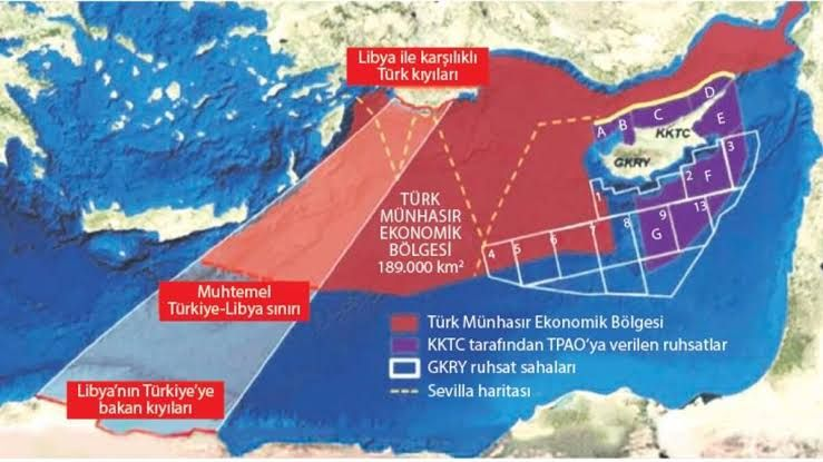 Türkiye ile Libya Arasındaki Deniz Yetki Anlaşması Öncesi ve Sonrası - Gökhan Güler