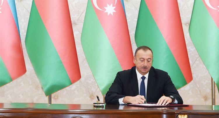 Prezident İlham Əliyev - 3 sərəncam imzaladı