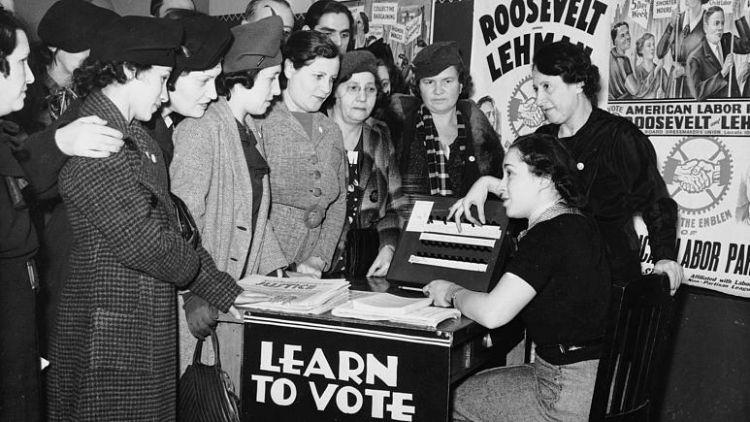Türkiye'de kadınlar ilk kez 1934'te oy verdi, Avrupa'da durum ne?g