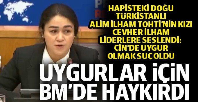 BM zirvesinde Doğu Türkistan çığlığı!