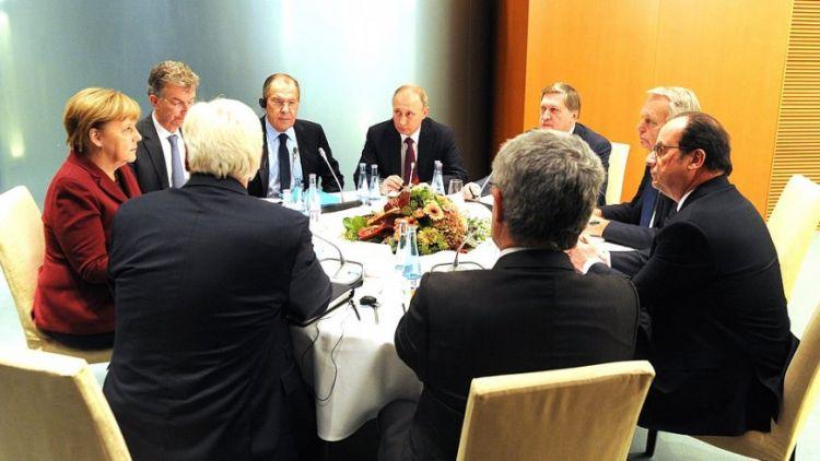 В Кремле рассказали об ожиданиях от саммита «нормандской четверки»