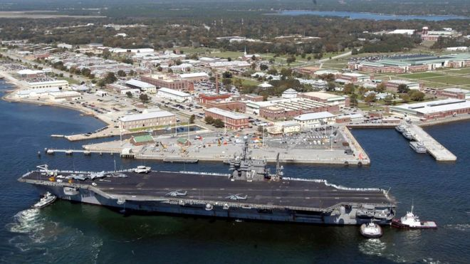 "US naval was attacked by Saudi cadet - King Salman pleaded pardon calling it as ""barbaric"""