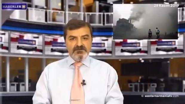 """Erməni kanalında Türkiyə ərazisi təhrif edildi - """"Qərbi Ermənistan"""" kimi göstəriblər - VİDEO"""