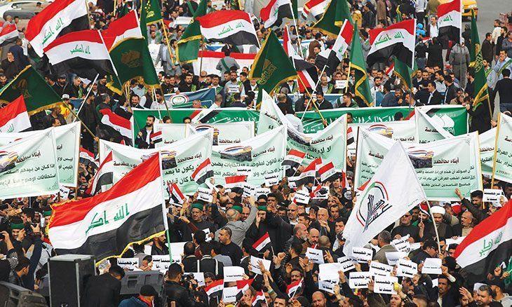 الخناق المحلي والدولي يزداد على أحزاب السلطة في بغداد