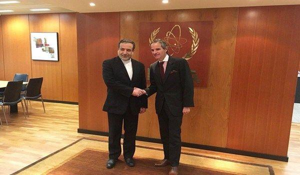 بيان الوكالة الدولية للطاقة الذرية حول لقاء عراقجي مع غروسي
