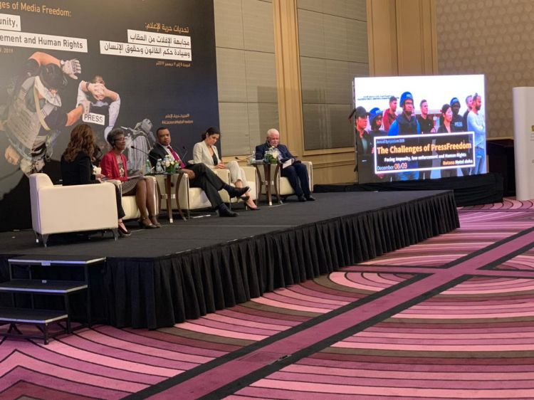 Symposium in commemoration of the International Day of Human Rights to be held in Qatar - IEPF President Umud Mirzayev joined the panel