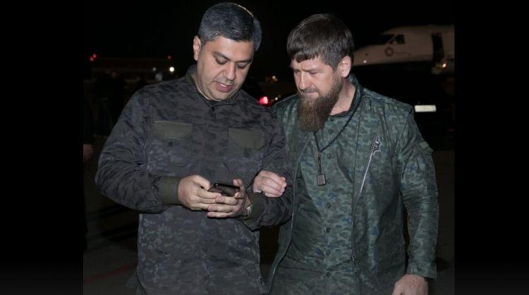 """Ramzan Kadirov erməni generalı təbrik etdi - """"Qardaşımız Artur Vanetsyan..."""" - FOTOLAR"""