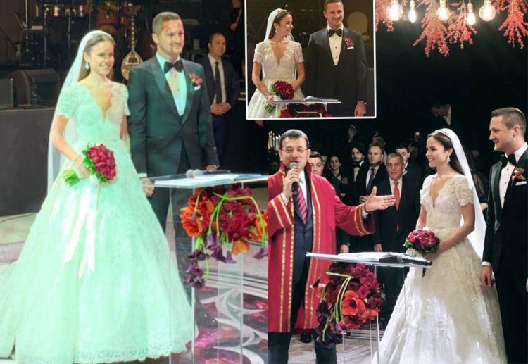 Sarıgül'ün oğlu evlendi, Nikahı kıyan Ekrem İmamoğlu şahit Melih Gökçek, - Şeref konuğu Binali Yıldırım - FOTO GALERİ