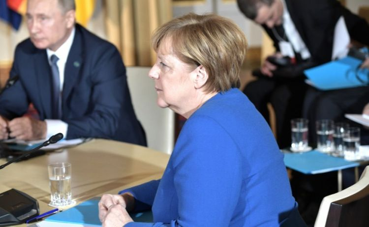 Меркель считает Путина победителем саммита «нормандской четверки» в Париже