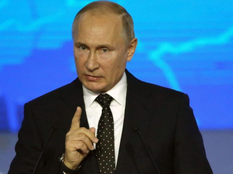 Putin rebukes EU stance on Nazi-Soviet WWII pact - They have forgotten who attacked Poland...