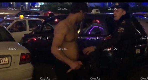 Терроризм  в центре Баку - ВИДЕО