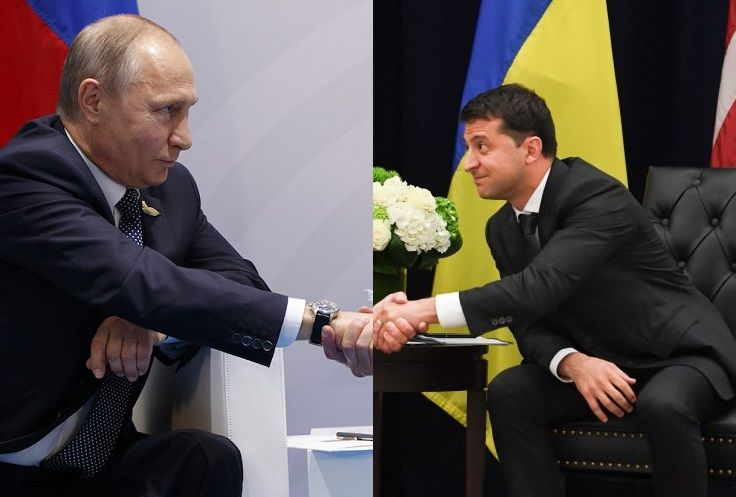 Zelensky says he can shake Putin's hand 100 times, if...