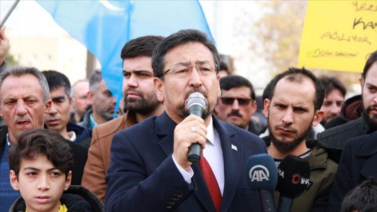 Doğu Türkistan Milli Meclis Başkanı Tümtürk: Davamıza sahip çıkan ülke, Türkiye