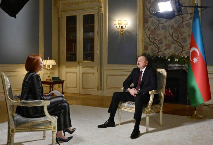 """Prezidentin """"Rossiya-24"""" telekanalına müsahibəsi - TAM MƏTN - VİDEO"""