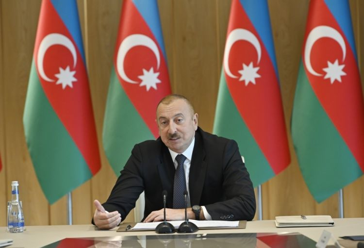 تمكنا من حرمان أرمينيا من مشاريع الطاقة والنقل ولا نخفي هذا عن أحد - الرئيس إلهام علييف