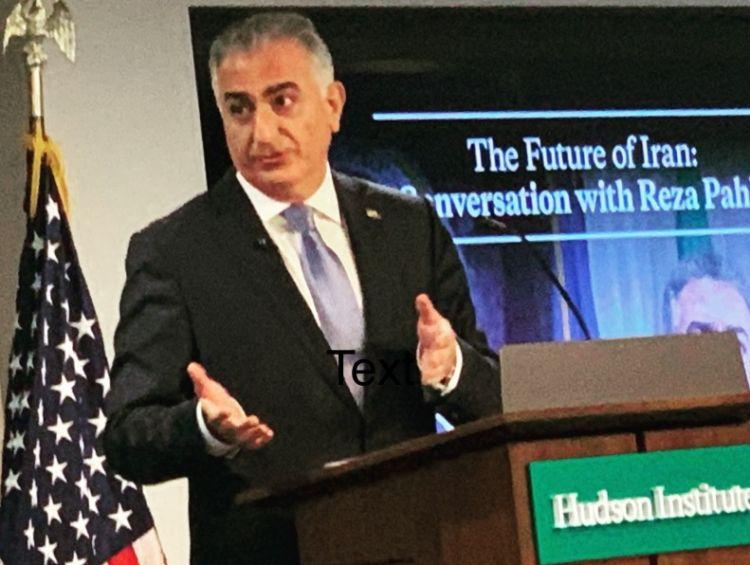 Падение режима это вопрос времени - заявил в Вашингтоне  сын шаха Ирана