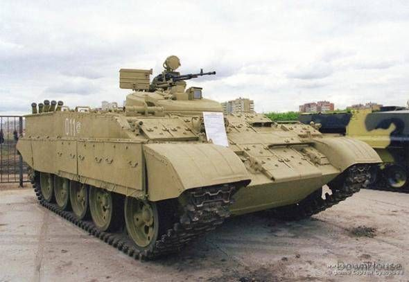 Russian battalions equipped with advanced combat vehicles - VIDEO