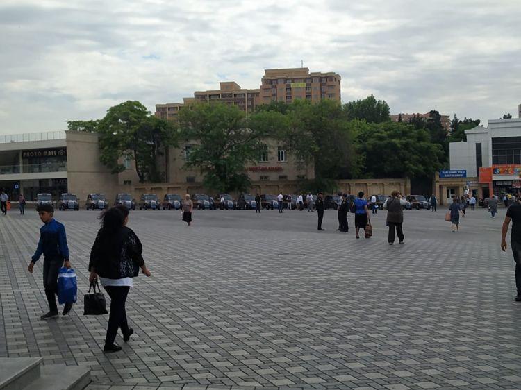 Чудесное преображение привокзальной площади Баку - ФОТОФАКТ