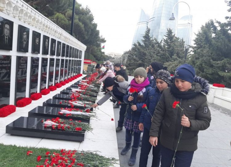 Future generations of heroic people will not turn away from this honorable path - We proudly commemorate January 20 martyrs - PHOTOS