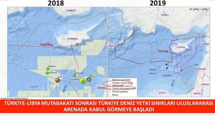 """Biz boşuna; """"İyi ki Tümamiral Cihat Yaycı var"""" diye yazmadık! Bakınız Türkiye-Libya Anlaşması sonrasında neler olmaya başladı - Gökhan Güler"""