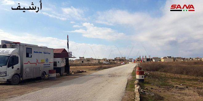 ستة أيام والإرهابيون يواصلون منع الأهالي من الوصول إلى ممرات أبو الضهور والهبيط والحاضر بريفي إدلب وحلب