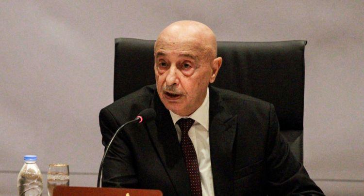 عقيلة صالح: عمليات الجيش لا تهدف لإعادة الحكم العسكري وشرعية البرلمان دستورية