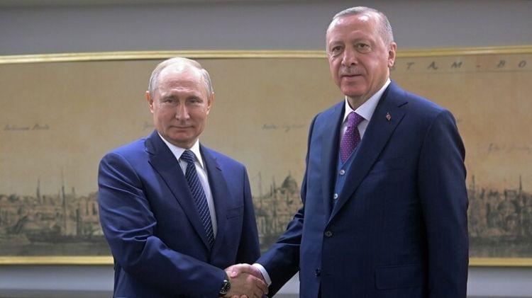 بوتين يصل إلى برلين ويلتقى أردوغان قبل انطلاق المؤتمر حول ليبيا