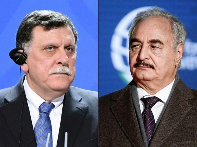ليبيا: السراج يدعو لنشر قوات دولية قبيل إنطلاق مؤتمر برلين