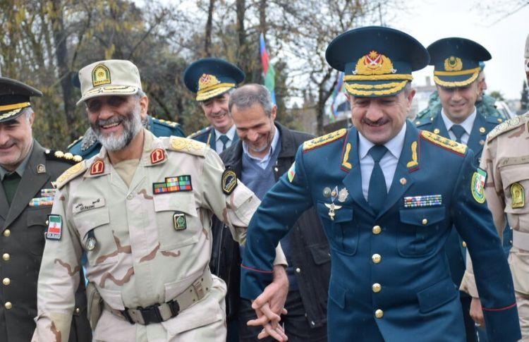 Iran, Azerbaijan border guard chiefs held meeting in Astarag
