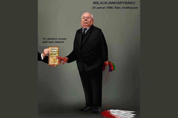 Azerbaijani President's aide calls revoking Nobel Peace Prize from Gorbachov