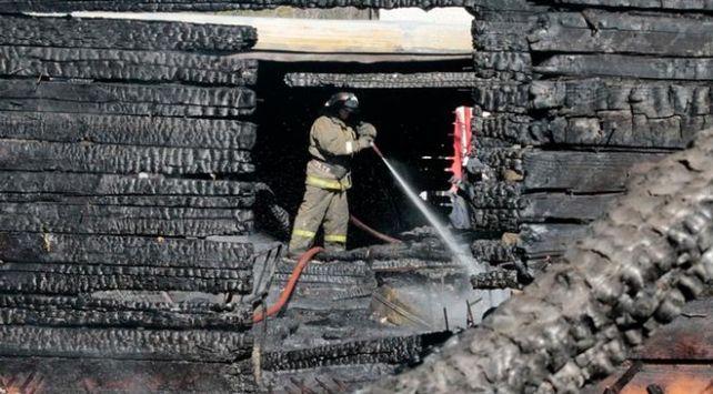 Rusya'da yangın: - 11 ölü