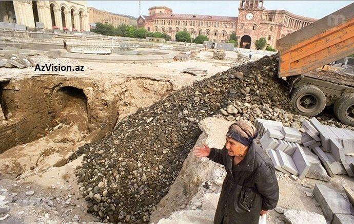 Пашинян объявил о намерении отрыть азербайджанский Ираван - ФОТО