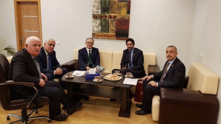 Katar'ın yeni atanan Azerbaycan Büyükelçisi  Basın Konseyi'ni ziyaret etti