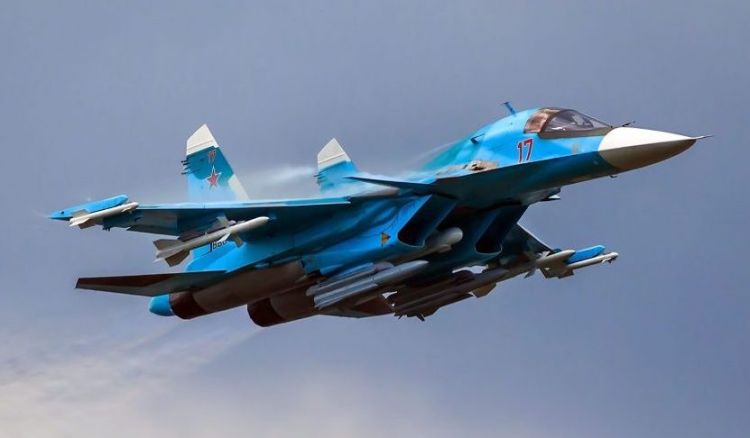 The new Russian Su-34 will be able to detect and shoot down invisible targets - VIDEO