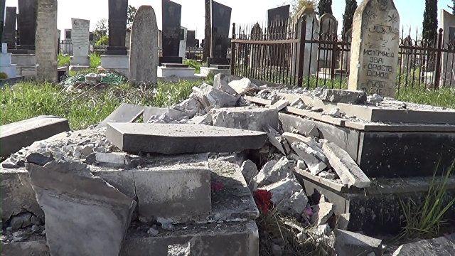 В Армении уничтожают мусульманские кладбище - Нарине Киракосян - ВИДЕО