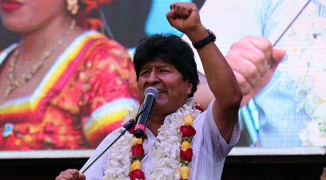 Morales: Yeniden hükümete gelecek ve demokrasiyi tesis edeceğiz