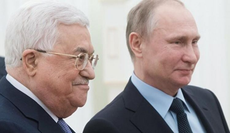 Russia ready to boost cooperation with Palestine - Putin