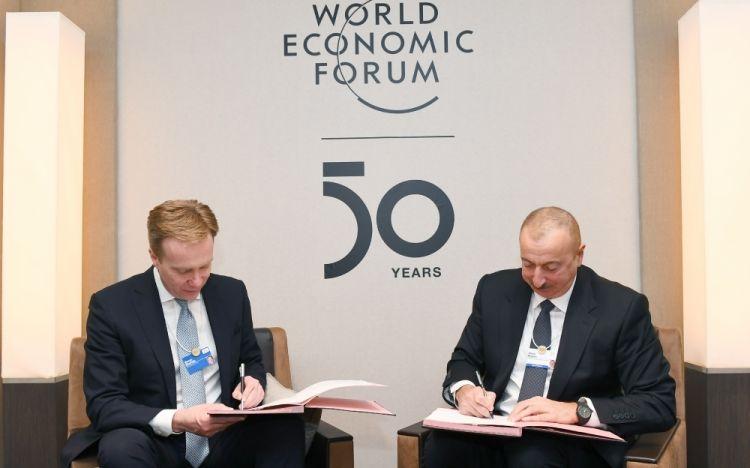 فتح صفحة جديدة في العلاقات بين أذربيجان والمنتدى الاقتصادي العالمي