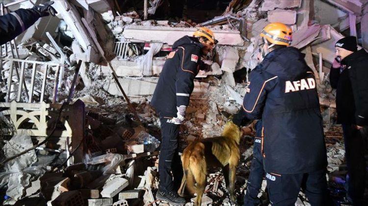 """992 شخصًا أصيبوا جرّاء زلزال """"ألازيغ"""" التركية"""