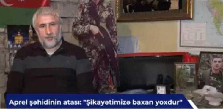 """Şəhid atası narazıdır: - """"Şikayətimizə baxan yoxdur"""" - VİDEO - FOTOLAR"""