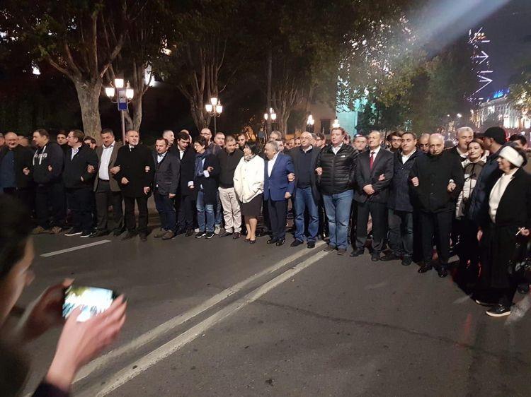 Грузинская оппозиция анонсирует масштабную акцию