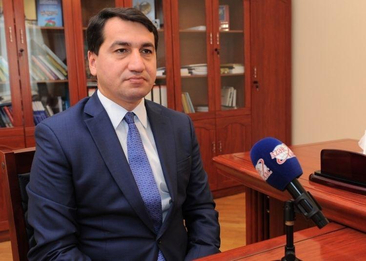 حكمت حاجييف: عبر الشعب الأذربيجاني مرة أخرى عن إرادته في الانتخابات البرلمانية